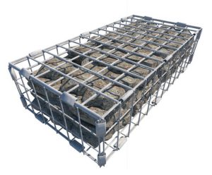 Controflow SUDS08101 Stainless Steel Erosion Control Basket 600x300x150mm