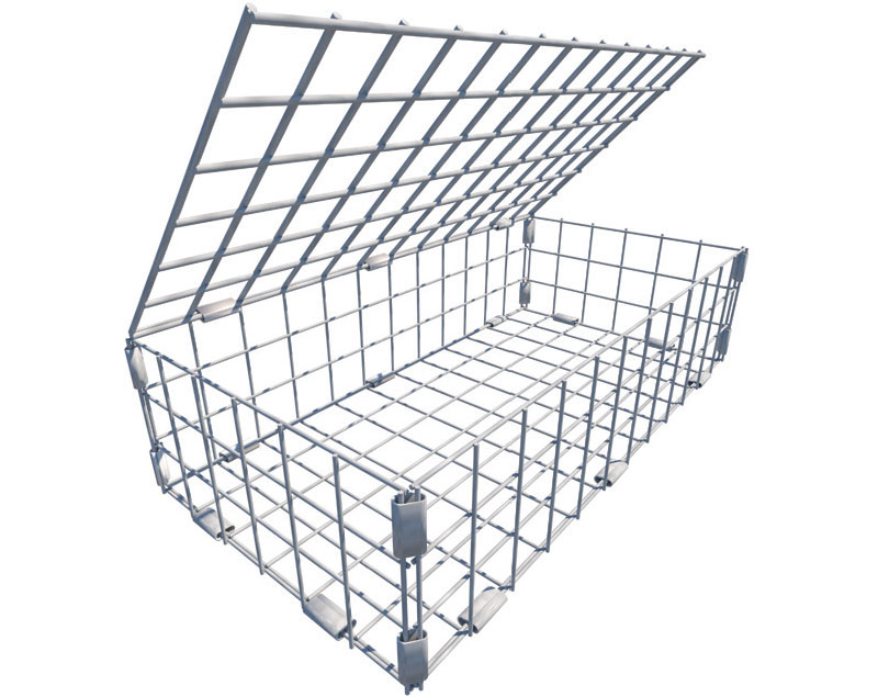 Controflow SUDS08101 empty Stainless Steel Erosion Control Basket 600x300x150mm